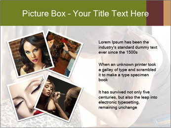 A beautiful young girl PowerPoint Template - Slide 23