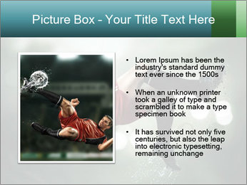 A soccer player PowerPoint Templates - Slide 13