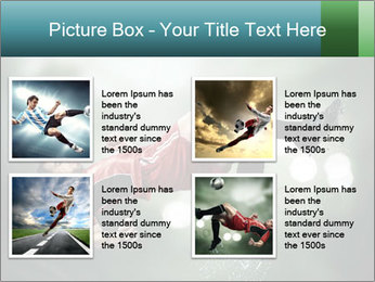 A soccer player PowerPoint Templates - Slide 14