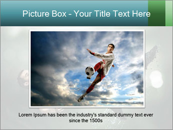 A soccer player PowerPoint Templates - Slide 15