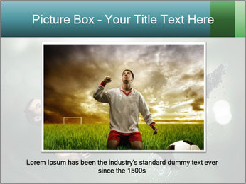 A soccer player PowerPoint Templates - Slide 16