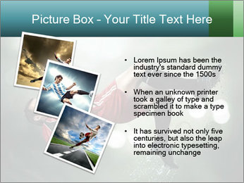 A soccer player PowerPoint Templates - Slide 17