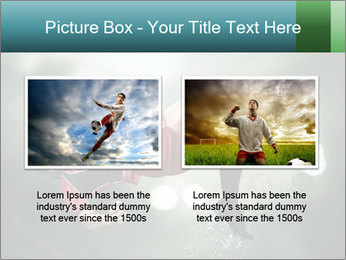 A soccer player PowerPoint Templates - Slide 18