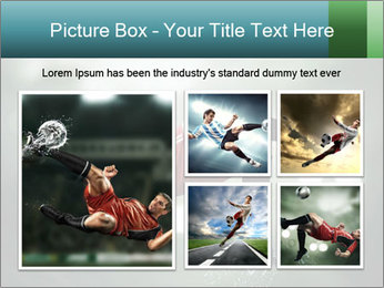 A soccer player PowerPoint Templates - Slide 19