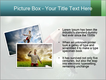 A soccer player PowerPoint Templates - Slide 20