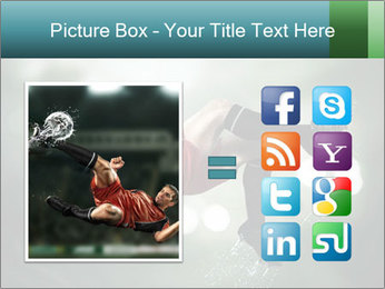 A soccer player PowerPoint Templates - Slide 21