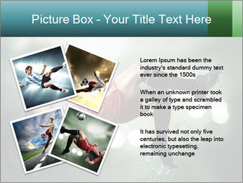 A soccer player PowerPoint Templates - Slide 23