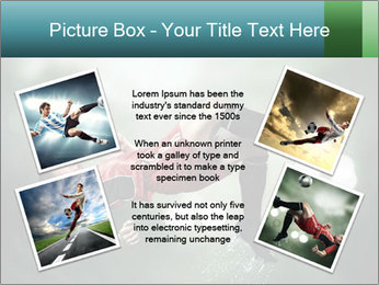 A soccer player PowerPoint Templates - Slide 24