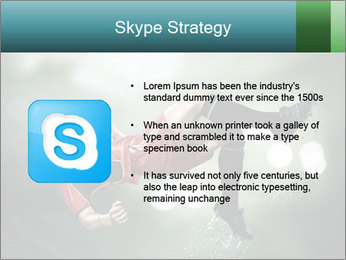 A soccer player PowerPoint Templates - Slide 8