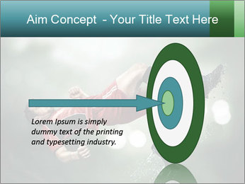 A soccer player PowerPoint Templates - Slide 83