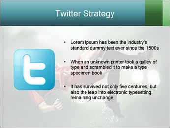 A soccer player PowerPoint Templates - Slide 9