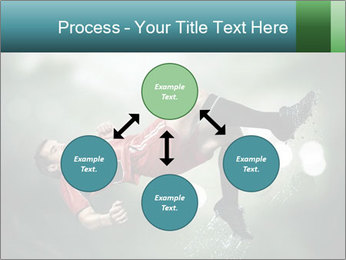 A soccer player PowerPoint Templates - Slide 91