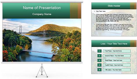 Hudson River PowerPoint Template