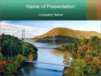 Hudson River PowerPoint Template - Slide 1