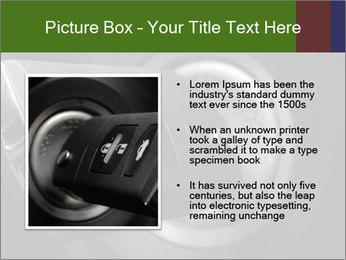Car key PowerPoint Template - Slide 13