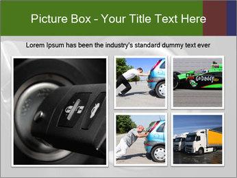 Car key PowerPoint Template - Slide 19
