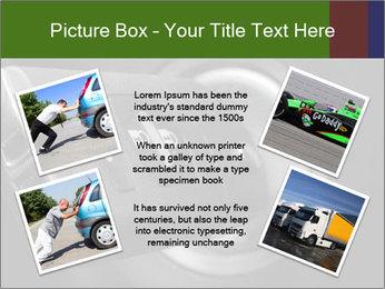 Car key PowerPoint Template - Slide 24