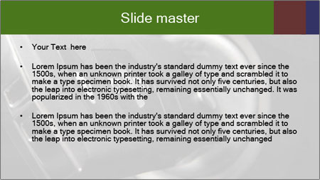 Car key PowerPoint Template - Slide 2
