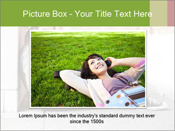 Student studying PowerPoint Template - Slide 16