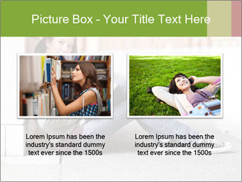 Student studying PowerPoint Template - Slide 18