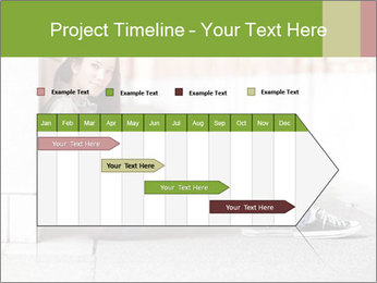 Student studying PowerPoint Template - Slide 25