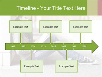 Student studying PowerPoint Template - Slide 28