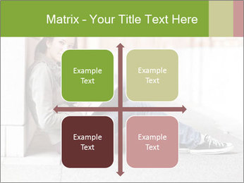 Student studying PowerPoint Template - Slide 37
