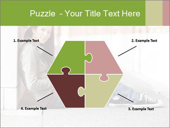 Student studying PowerPoint Template - Slide 40