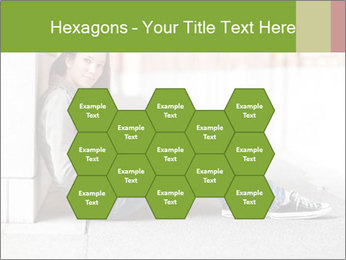 Student studying PowerPoint Template - Slide 44