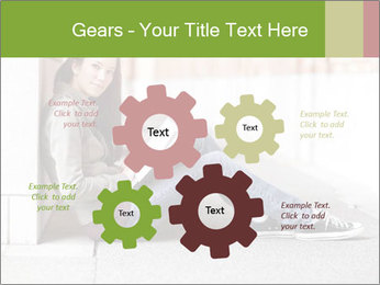 Student studying PowerPoint Template - Slide 47