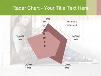 Student studying PowerPoint Template - Slide 51