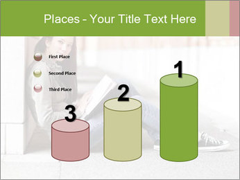 Student studying PowerPoint Template - Slide 65