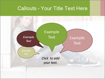 Student studying PowerPoint Template - Slide 73