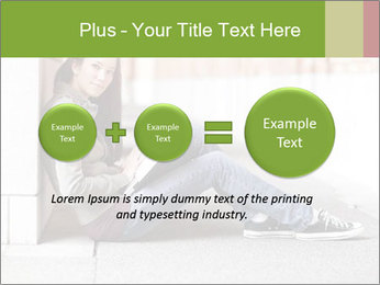 Student studying PowerPoint Template - Slide 75