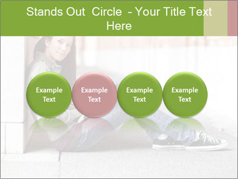 Student studying PowerPoint Template - Slide 76