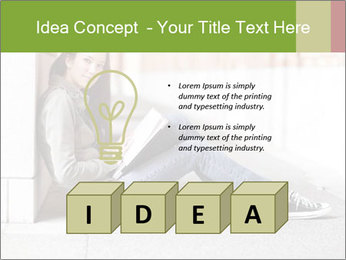 Student studying PowerPoint Template - Slide 80
