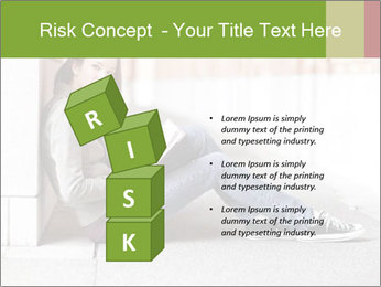Student studying PowerPoint Template - Slide 81