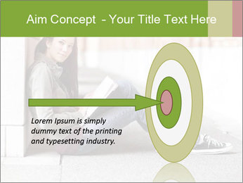 Student studying PowerPoint Template - Slide 83