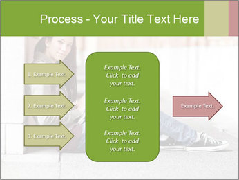 Student studying PowerPoint Template - Slide 85