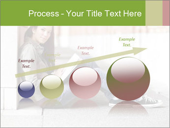 Student studying PowerPoint Template - Slide 87