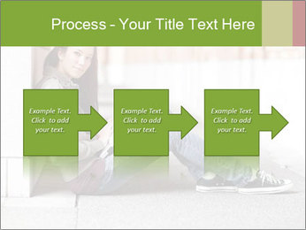 Student studying PowerPoint Template - Slide 88