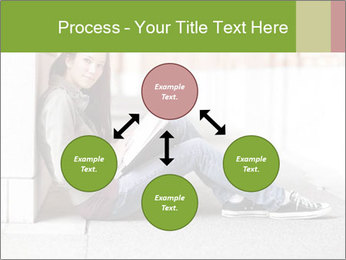 Student studying PowerPoint Template - Slide 91