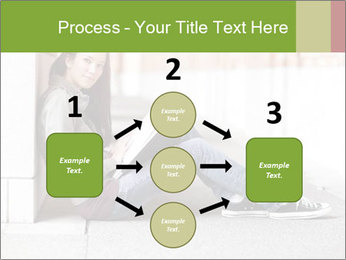 Student studying PowerPoint Template - Slide 92