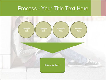 Student studying PowerPoint Template - Slide 93