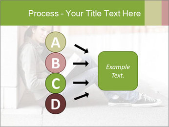 Student studying PowerPoint Template - Slide 94