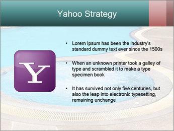 Swimming pool PowerPoint Template - Slide 11