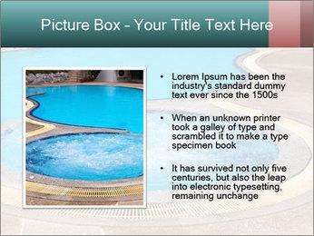 Swimming pool PowerPoint Template - Slide 13