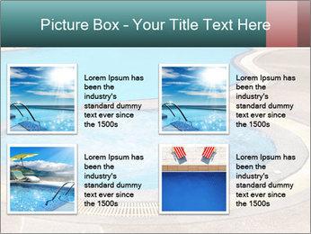 Swimming pool PowerPoint Template - Slide 14