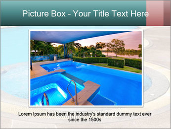 Swimming pool PowerPoint Template - Slide 15