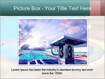 Swimming pool PowerPoint Template - Slide 16